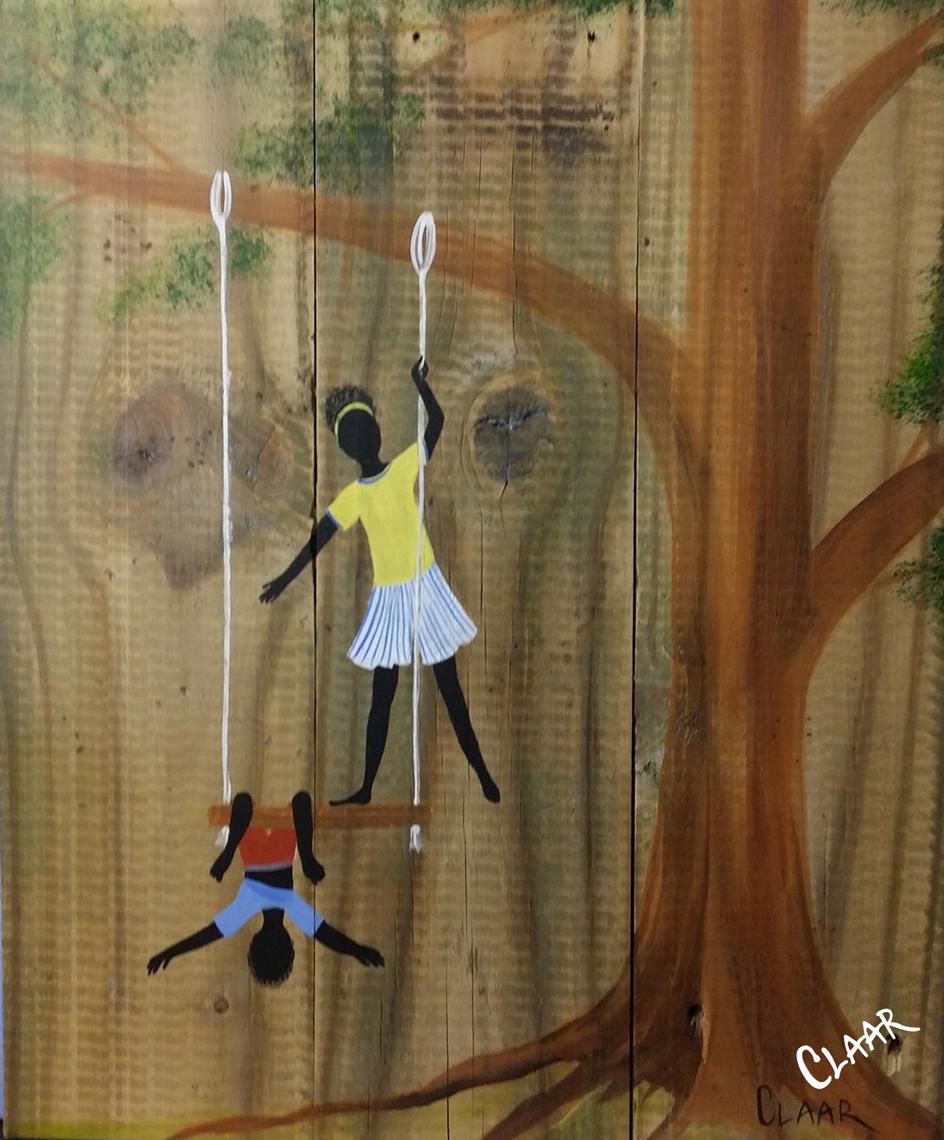We Saw The Circus Samantha Claar Gullah Art