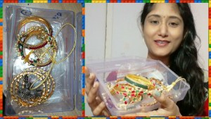 maxresdefault 56 - My Latest Jewellery Collection| Latest one gram gold jewels|Antique jewelry collection|PINKNBLUEEE