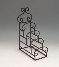 Plate Stands - Wrought Iron Four Tiered - Set of 4, Plate ...
