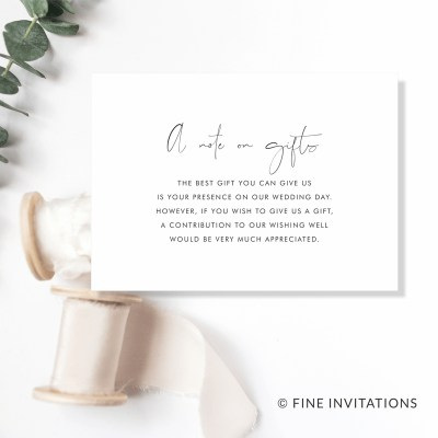 modern wedding gifts cards