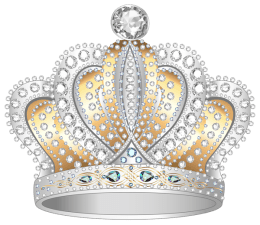 silver_gold_diamond_crown_png_clipart_image
