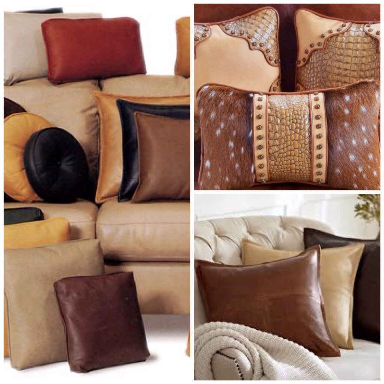 throw pillows on leather sofa henredon construction and accent 20 50 off retail