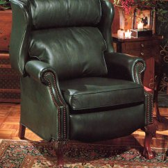 Upholstering A Chair Leather Office No Wheels High Quality Recliner Maxwell By Bradington Young