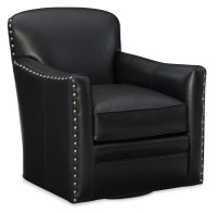 Leather Swivel Chairs : Luna Leather Swivel Chair
