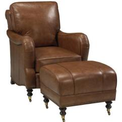 Leathercraft Sofa Luxury Pull Out Beds Callum Leather Tilt Back Chair And Ottoman