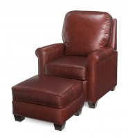 omnia sofa prices twin sleeper sofas chairs leather tilt back & ottoman : wakefield ...