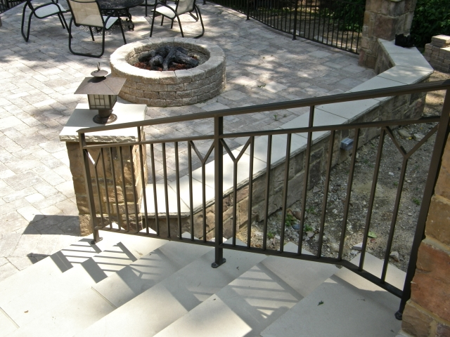 Exterior Ironwork Finelli Ironworks | Iron Railings For Outside Steps | Front Porch | Deck Railing | Cast Iron | Railing Systems | Staircase