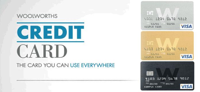 Woolworths credit card