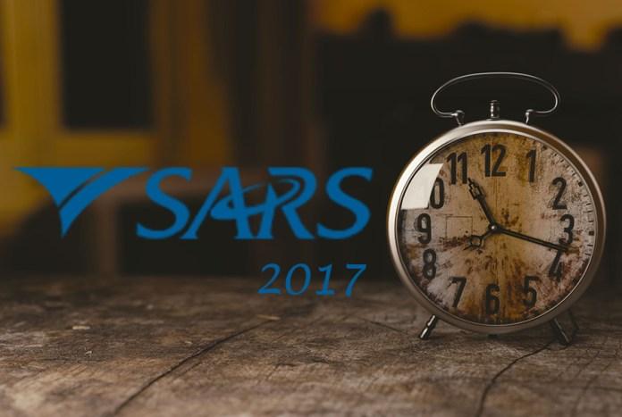 SARS 2017 payments