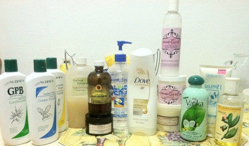 naturally curly hair products