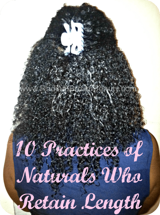 naturals who retain length