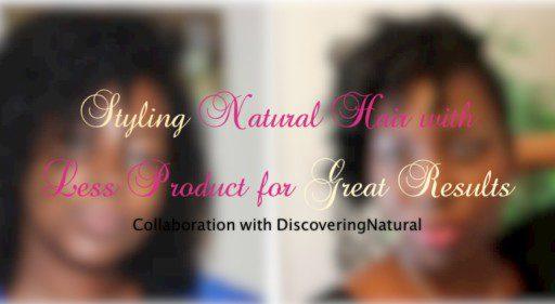 natural hair styling