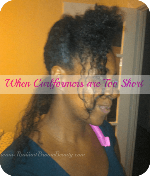 what to do when curlformers are too short