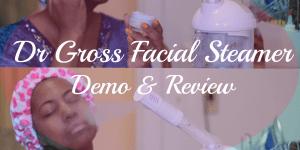 dr gross facial steamer review