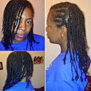 protective styling with braids
