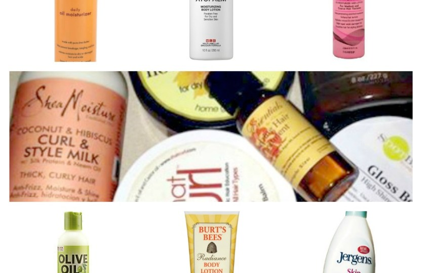 moisturizers for hair and body