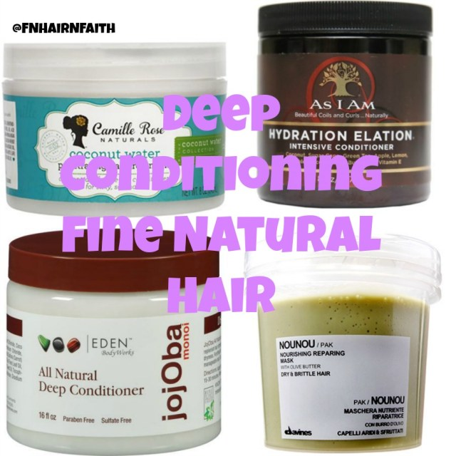 deep conditioning fine natural hair