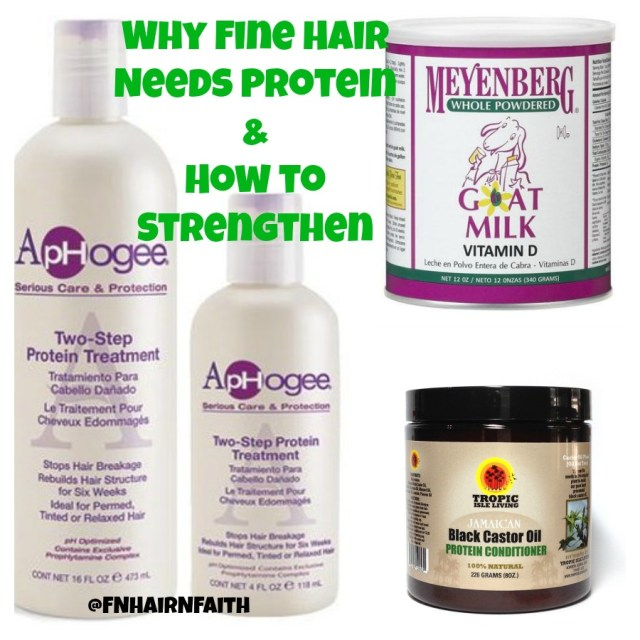 protein for fine natural hair