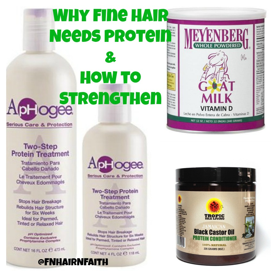 Why Fine Hair Needs Protein & How to Strengthen It