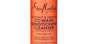 shea moisture coconut hibiscus cowash