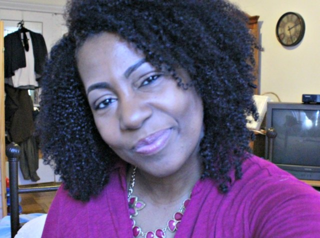 fine natural hair blogger