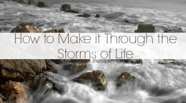 how to make it through trouble