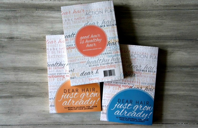 hair planner and journal