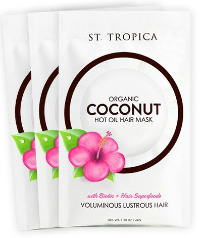 Organic coconut oil hair mask