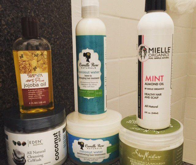 minimalist hair regimen