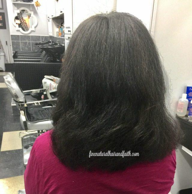 straight fine natural hair