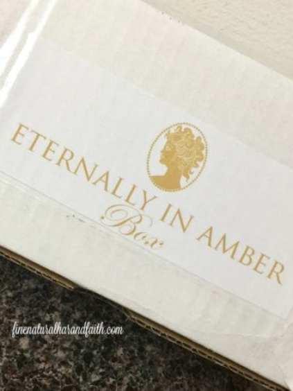 eternally in amber box