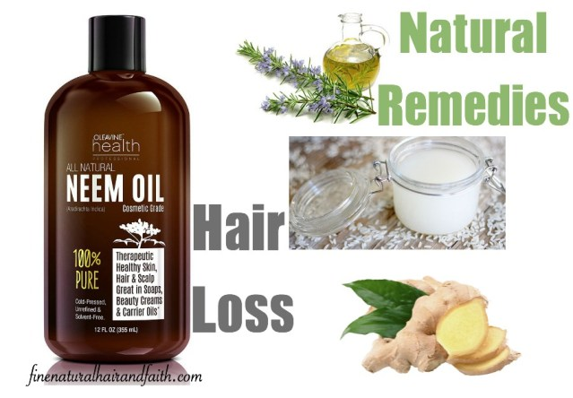 alternative natural hair loss remedies