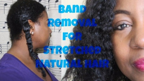 banding to stretch natural hair