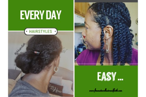 easy every day hairstyles for fine natural hair