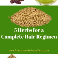 HERBS FOR HAIR CARE: Top 5 Herbs for a Complete Regimen