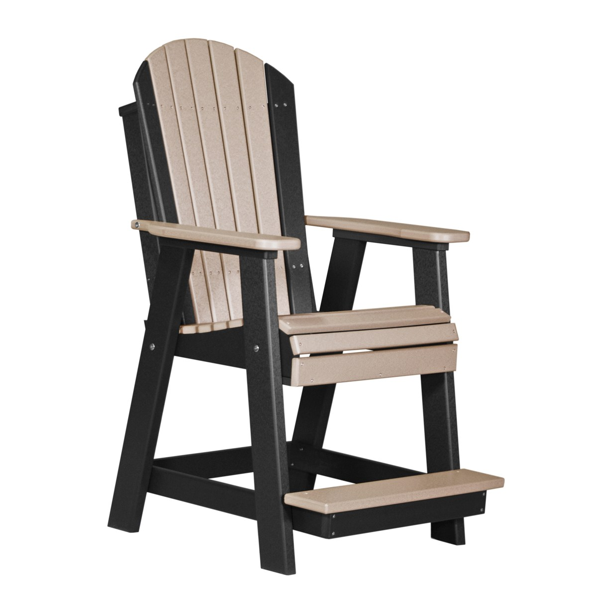 adirondack chairs amish chair with attached desk balcony recycled patio fine oak things