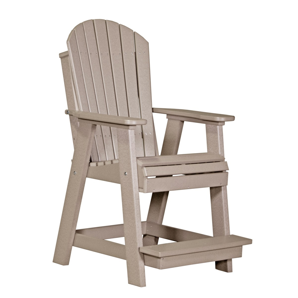 non wood adirondack chairs christmas chair covers dubai balcony recycled patio fine oak things