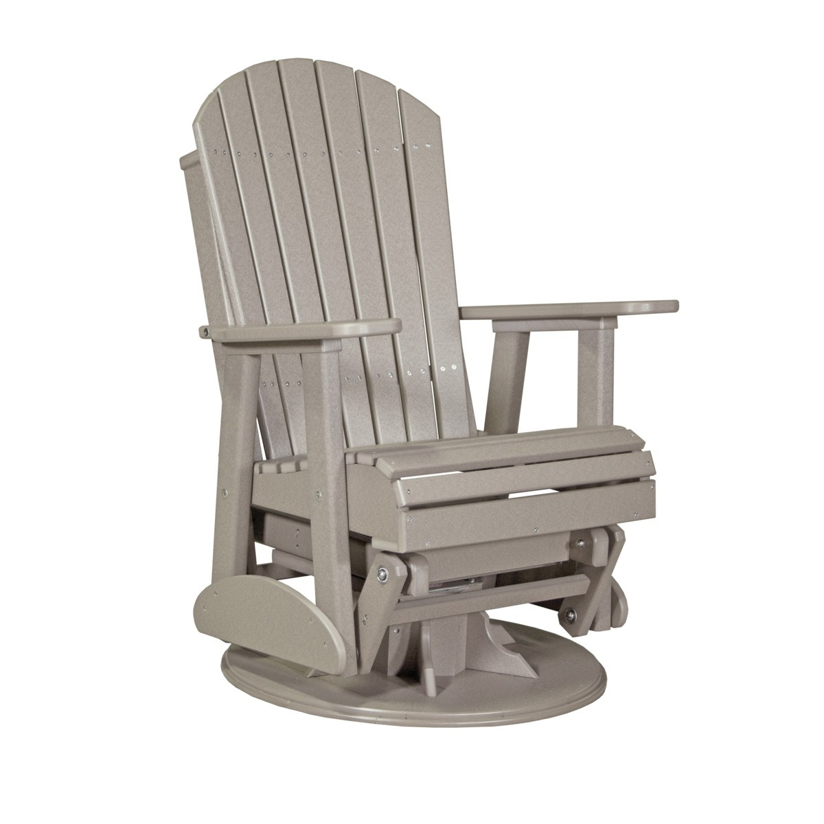 Glider Patio Chairs Adirondack Swivel Glider Patio Furniture Fine Oak Things