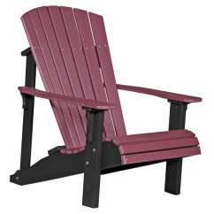 Non Wood Adirondack Chairs Plastic And Tables For Kids Deluxe Chair Recycled Patio Fine Oak Things