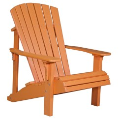 Non Wood Adirondack Chairs Desk Chair Parts Deluxe Recycled Patio Fine Oak Things