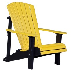 Yellow Adirondack Chairs Plastic Add On Headrest For Office Chair Deluxe Recycled Patio Fine Oak Things