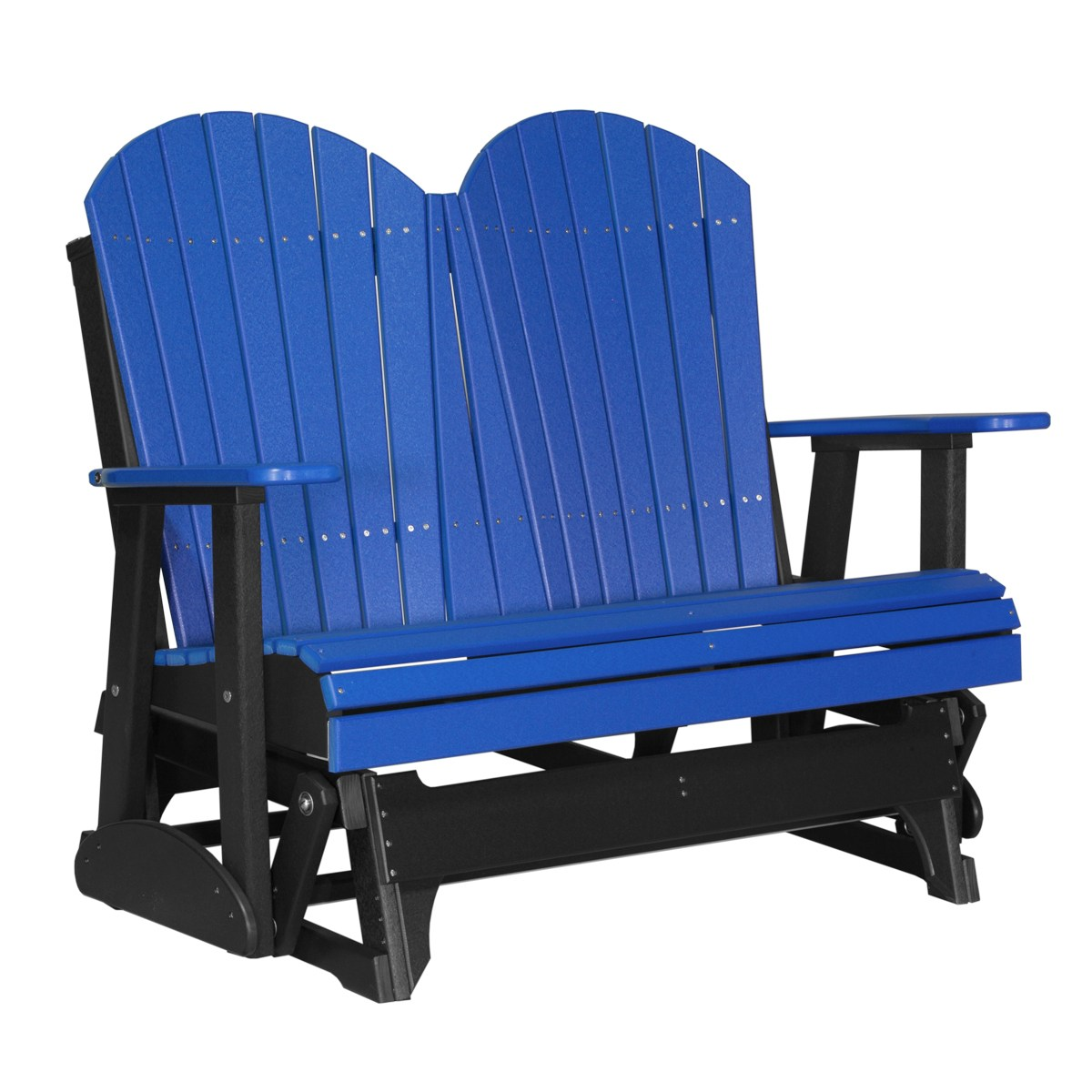 double rocking adirondack chair plans back support pillow for glider recycled patio fine oak things