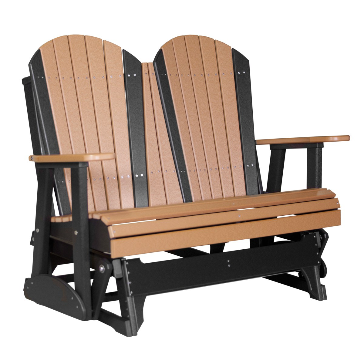 double rocking adirondack chair plans caning repair kit glider recycled patio fine oak things