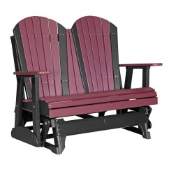 Double Rocking Adirondack Chair Plans Used Lift Glider Recycled Patio Fine Oak Things