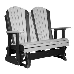Double Rocking Adirondack Chair Plans Bean Bag Chairs For Teenage Girls Glider Recycled Patio Fine Oak Things