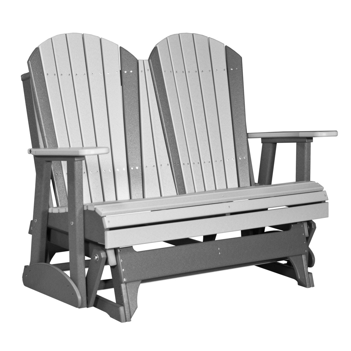 double rocking adirondack chair plans metal chairs for sale glider recycled patio fine oak things