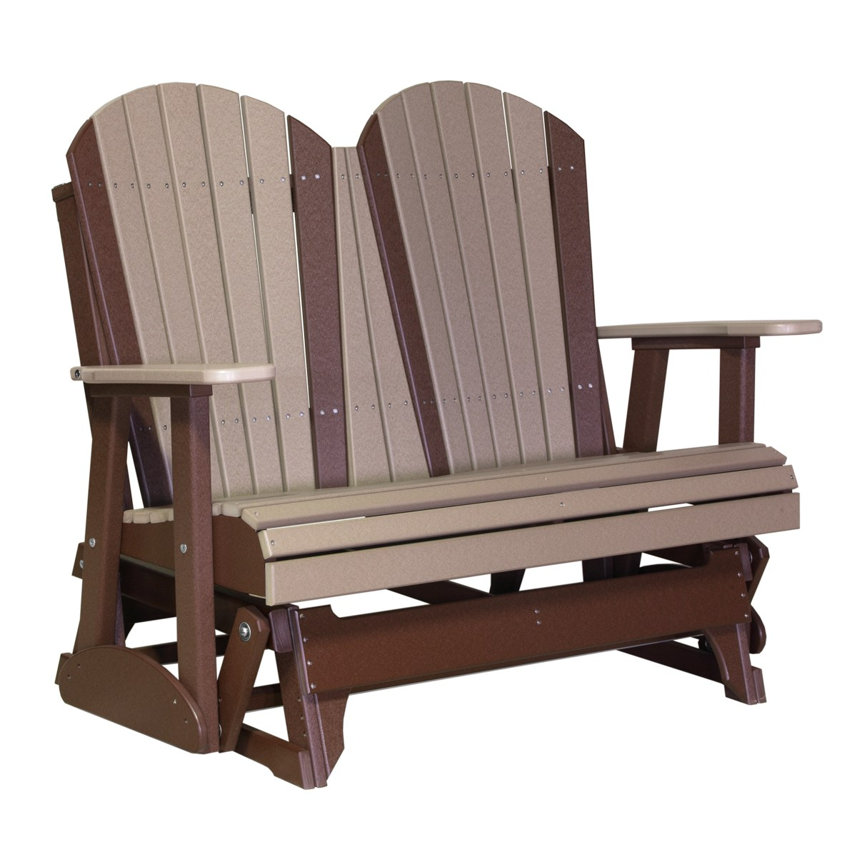 double rocking adirondack chair plans ice cream chairs for sale glider recycled patio fine oak things