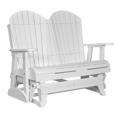 Double Rocking Adirondack Chair Plans How To Clean Aluminum Chairs Glider Recycled Patio Fine Oak Things