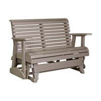 Double Plain Glider | Patio Furniture | Fine Oak Things