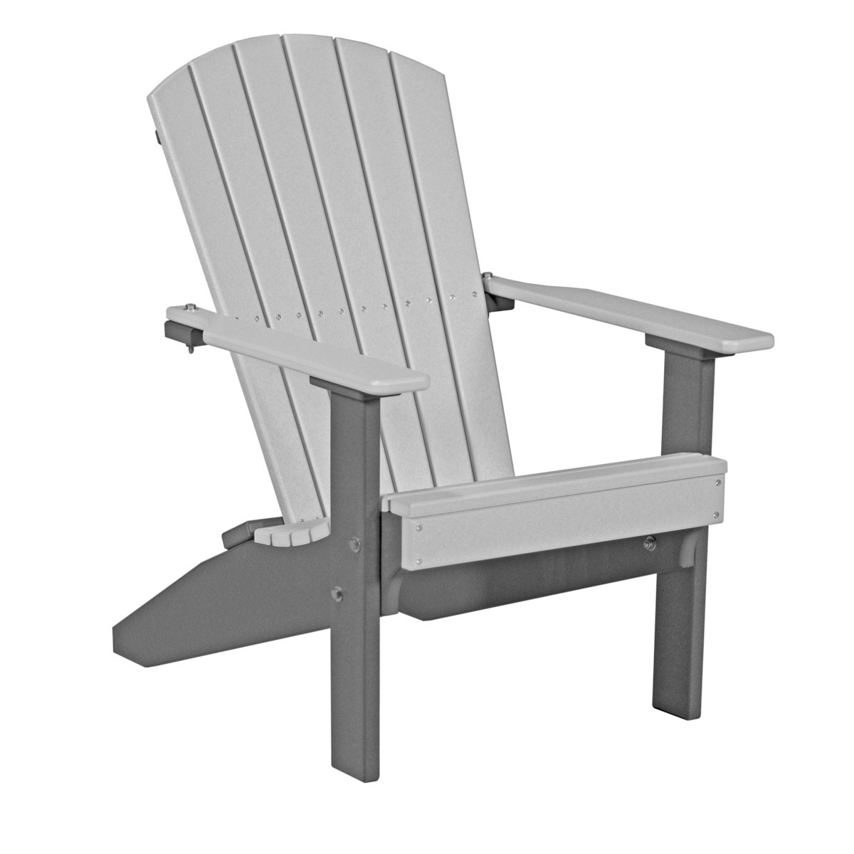 gray adirondack chairs rocking chair floor pads lakeside recycled patio fine oak things